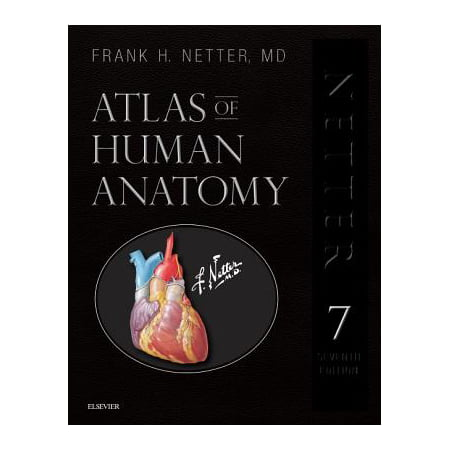Atlas of Human Anatomy, Professional Edition : Including Netterreference.com Access with Full Downloadable Image (Armaniexchange Com)