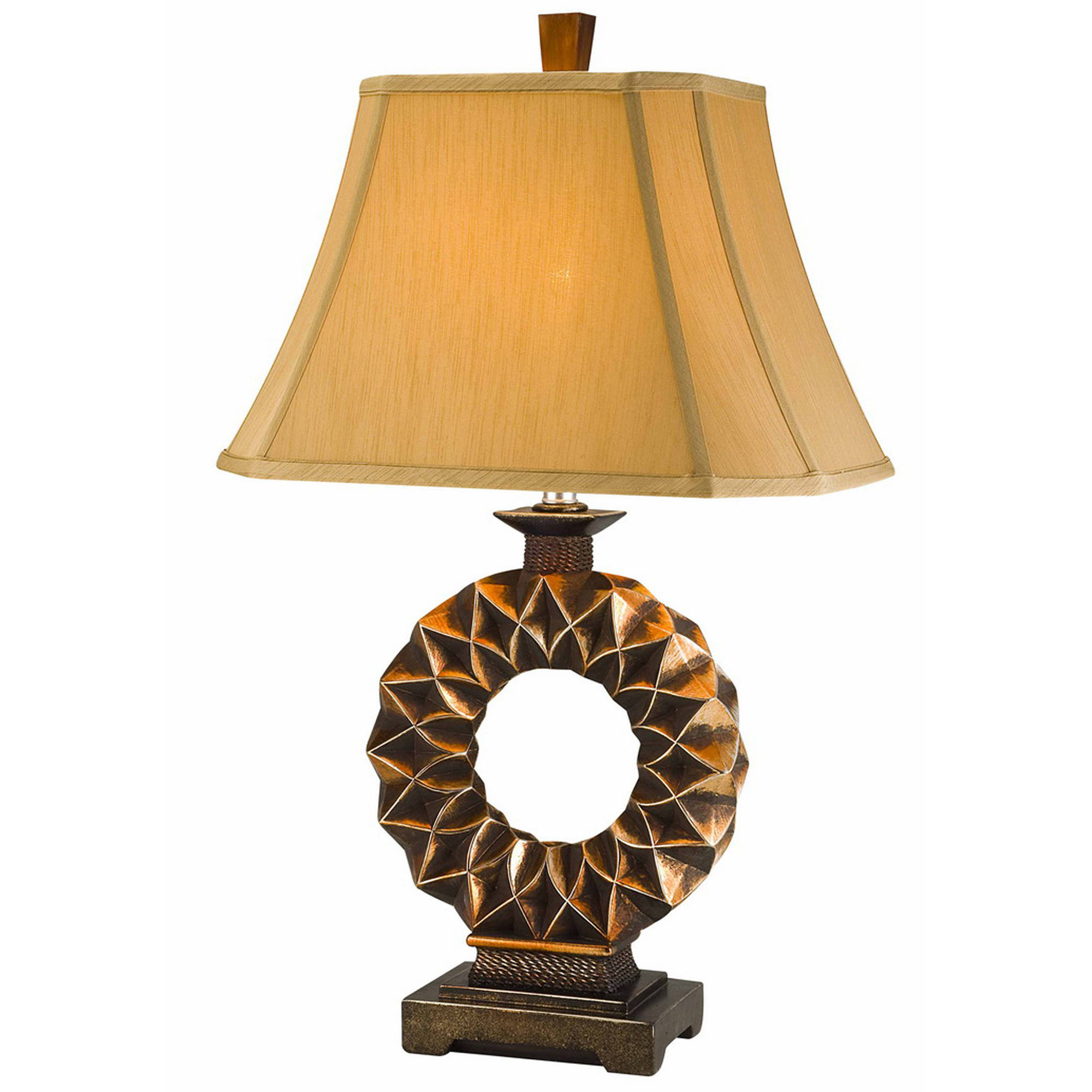 OK Lighting Western Table Lamp