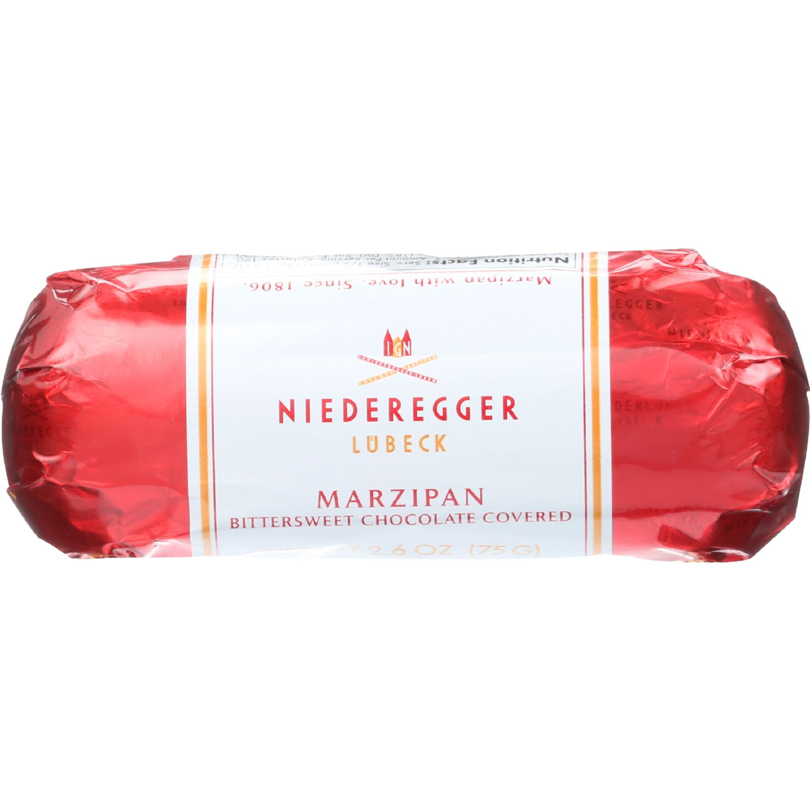Niederegger Marzipan Loaf - Chocolate Covered - 2.6 oz - ...