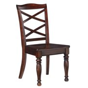 Ashley Porter Rustic Brown Dining Room Side Chair - Set of 2