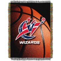 """NBA 48"""" x 60"""" Photo Real Series Tapestry Throw, Wizards"""