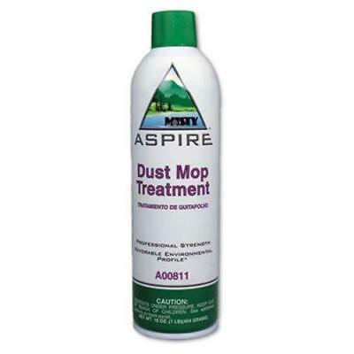 Misty Aspire Dust Mop Treatment, Lemon, 20-oz. Aerosol, 12 Cans