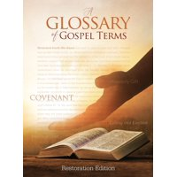 Tcgt-Hb-L-01: Teachings and Commandments, Book 2 - A Glossary of Gospel Terms: Restoration Edition Hardcover, 8.5 x 11 in. Large Print (Hardcover)