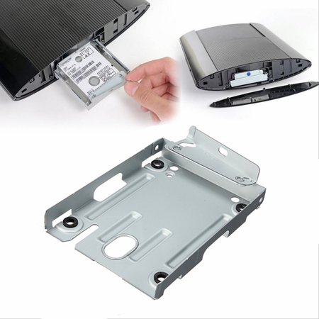 Hard Disk Drive HDD Mounting Bracket Caddy For PlayStation 3 PS3 Slim + (Ps3 Slim Not Reading Discs Eject Noise Fix)