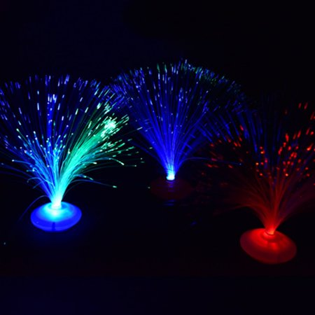 Romantic Color Changing LED Fiber Optic Nightlight for Party Home Decoration