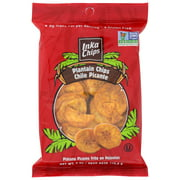 (12 Pack) Inka Crops Plantain Chips, Chile Picante, 4 Oz.