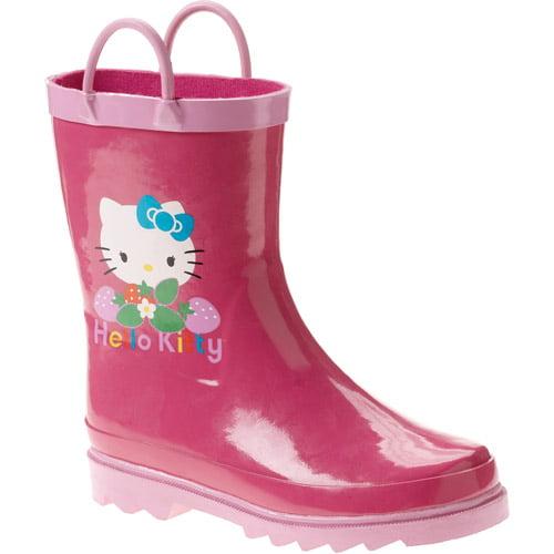 Hello Kitty - Toddler Girls' Strawberry Hello Kitty Rain Boots