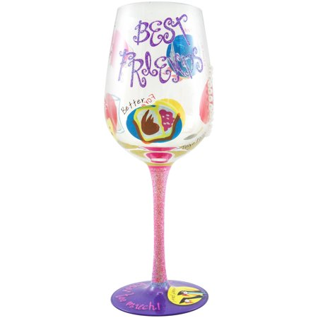 Stonebriar Top Shelf Best Friend Wine Glass