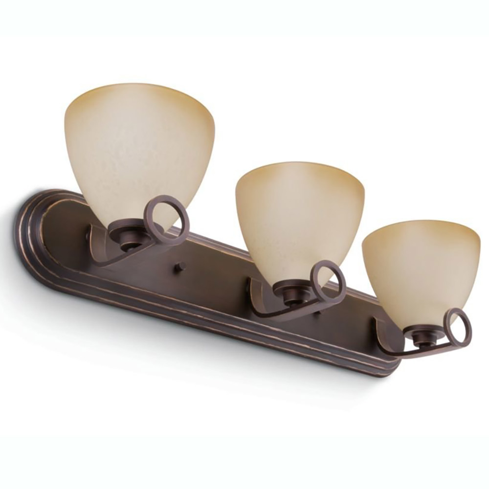 Philips Veccia 60W 6 Light Home Indoor Wall Lamp Sconce, Oiled Bronze Finish by Philips