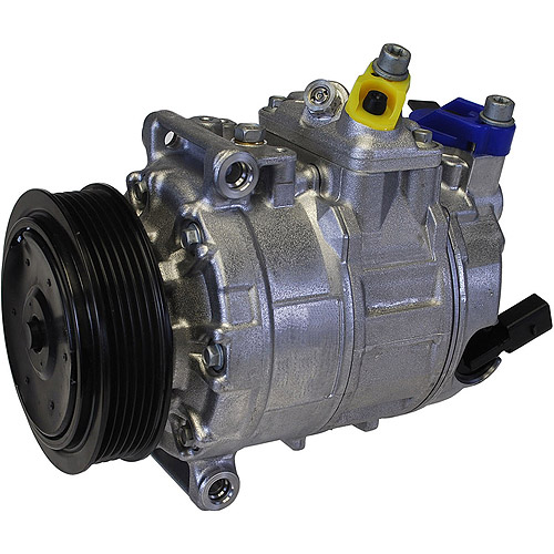 DENSO 471-1497 New Compressor with Clutch