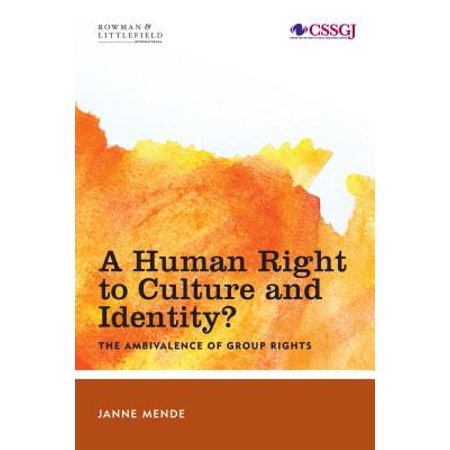 A Human Right to Culture and Identity - eBook