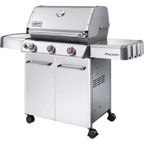 Weber Genesis S 310 >> Weber Genesis S310 38 000 Btu 3 Burner Gas Grill Lp Stainless Steel