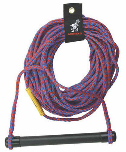 Click here to buy Airhead Promotional Water Ski Rope 16 Strand 75' Long by Kwik Tek.