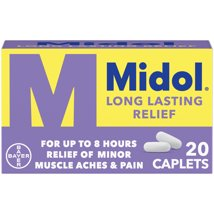 Pain Relievers: Midol Long Lasting Relief
