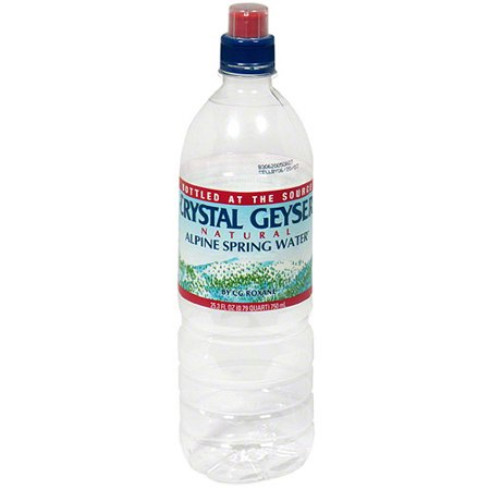 Crystal Geyser Natural Alpine Spring Water
