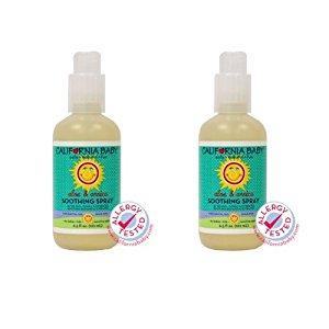 California Baby Aloe & Arnica apaisante Spray -. 6,5 onces, Lot de 2