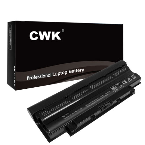 CWK; 7800mAh 9 Cell New High Capacity Battery for Dell In...
