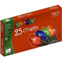 Noma/Inliten-Import 525-88 Christmas Lights Set, Multi-Color, 25-Ct.