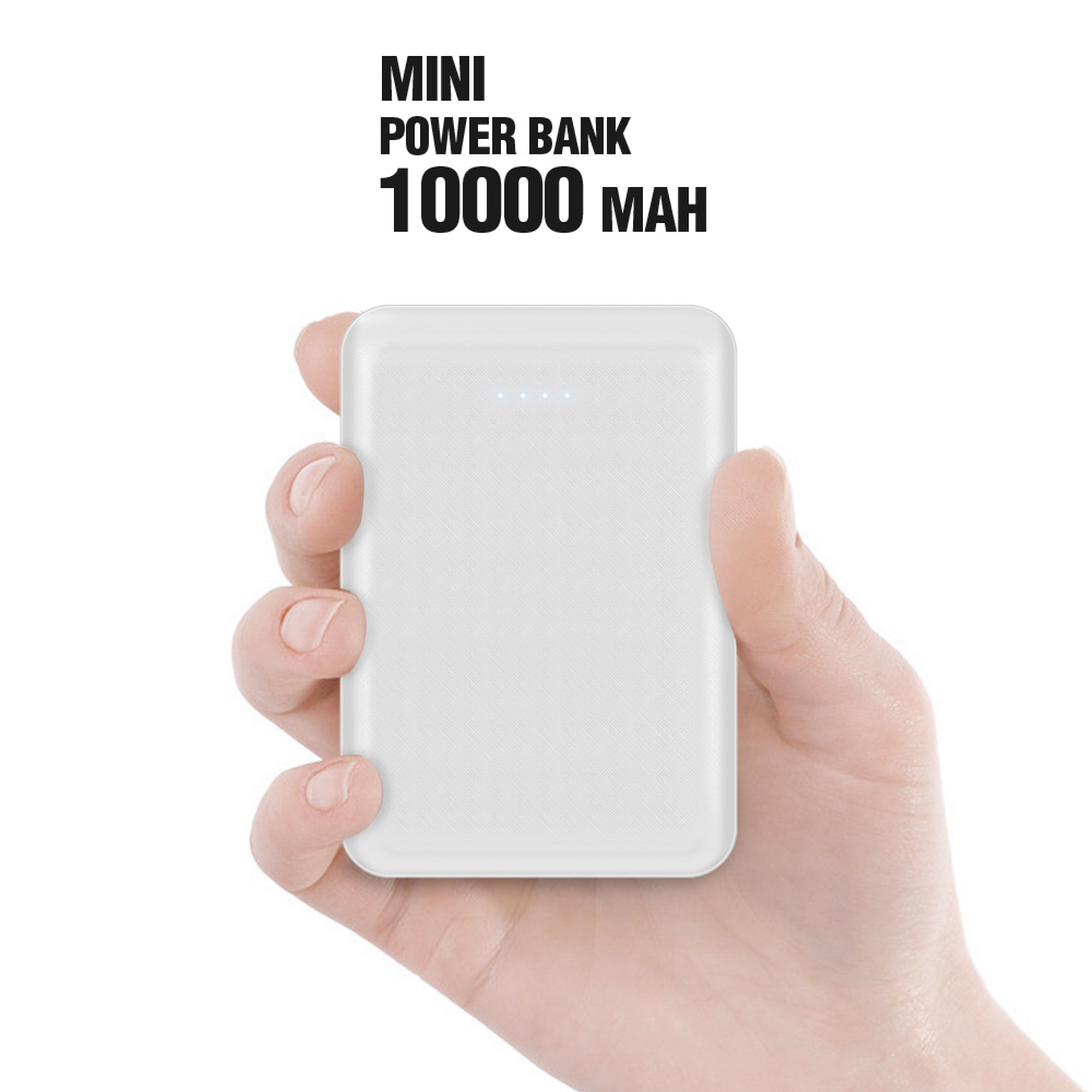 10000mah Portable Battery Charger Luxmo Smallest Bank Fast Charging Pack With 2 Usb Output Ports 5v 4a 1a Compatible Iphone