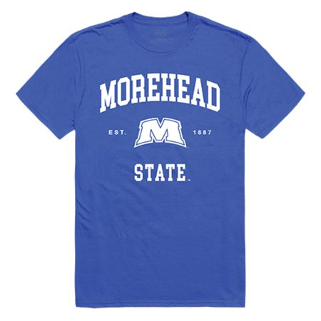 Morehead State University Eagles Seal Tee T-Shirt Royal XL