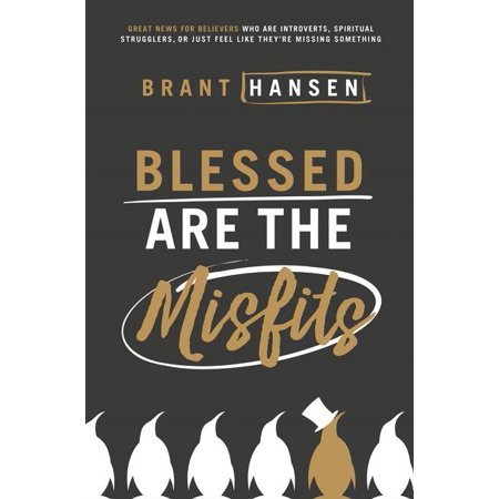 Blessed Are the Misfits : Great News for Believers Who Are Introverts, Spiritual Strugglers, or Just Feel Like They're Missing Something