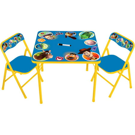 Disney - Toy Story Erasable Activity Table and 2 Chairs Set ...