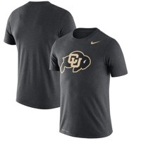 Colorado Buffaloes Nike Legend Logo Dri-FIT Performance T-Shirt - Heather Charcoal
