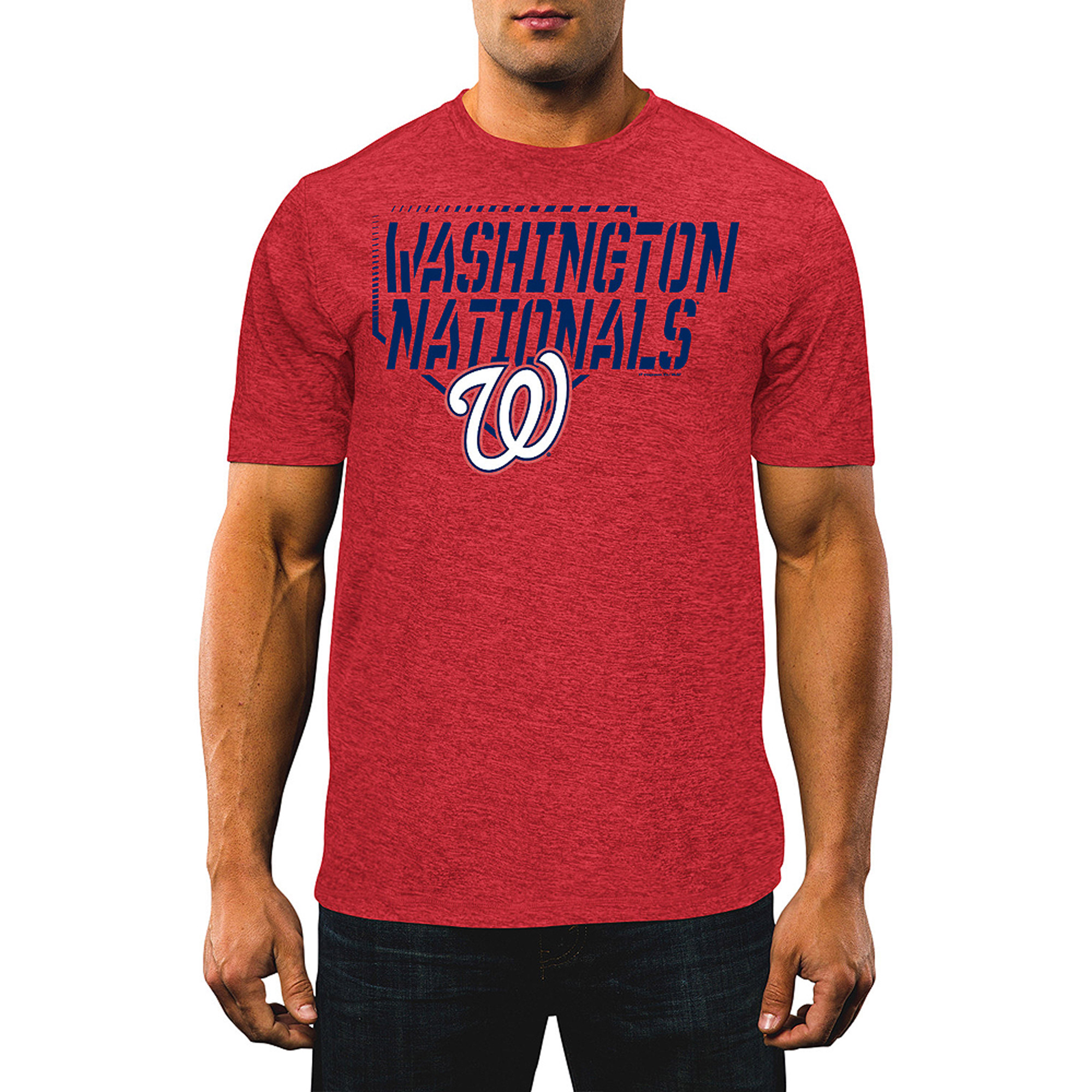 MLB Men's Washington Nationals Synthetic Tee