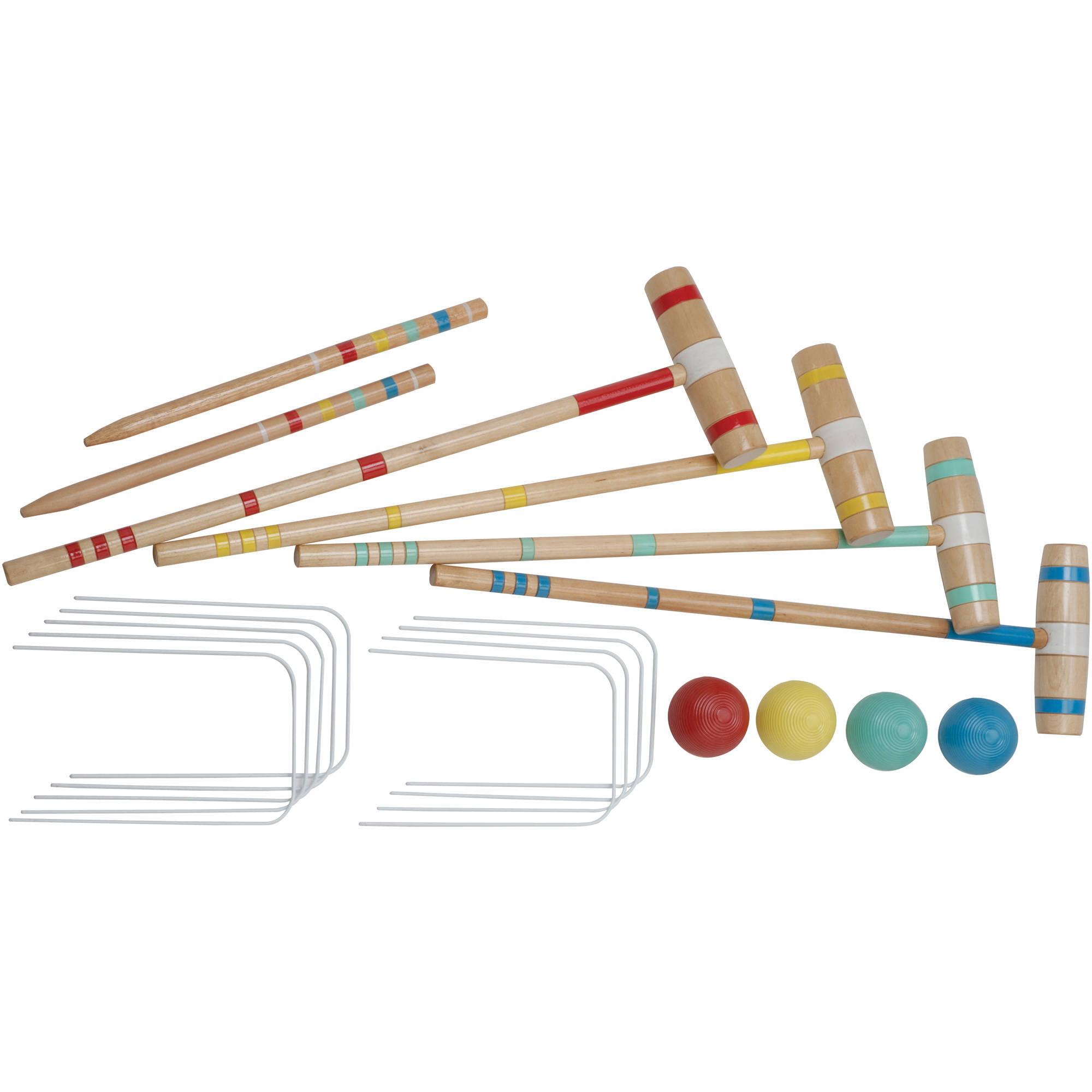 Halex Croquet 4-Player Classic