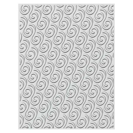 Creative Expressions Embossing Folder  3D  5 3/4 x 7 1/2 Ribbon (Embossing Ribbon)