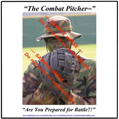 The Combat Pitcher Poster -