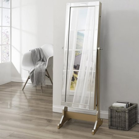 Inspired Home Isabelle Full Length Lockable Cheval Mirror