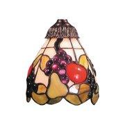 Tiffany One Light Glass Only - Tiffany Glass Shade Only  Tiffany Finish-Bailey Street