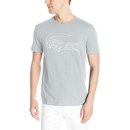Lacoste Short Sleeve Croc Graphic Regular Fit T-Shirt - Mens