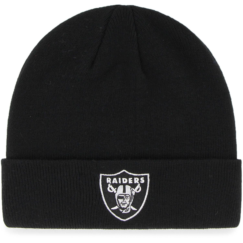 NFL Oakland Raiders Mass Cuff Knit Cap Fan Favorite by