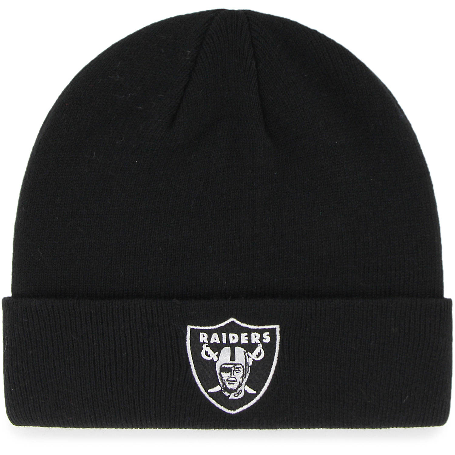 NFL Oakland Raiders Mass Cuff Knit Cap - Fan Favorite