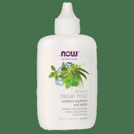 NOW Foods Activated Nasal Mist 2 fl oz Liquid
