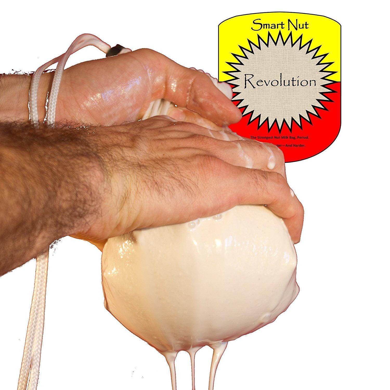 Fine Mesh Sieve Nut Milk Bag - 128 OZ Capacity! Nylon Che...