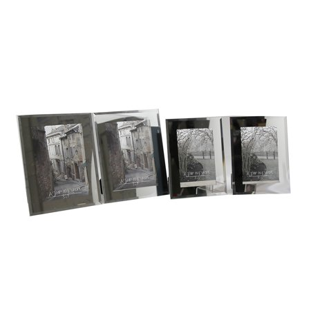 Complete Home Living 4pc Picture Frame Set 2 4x6 2 5x7 Frames