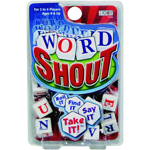 Patch Products Word Shout! Dice Game