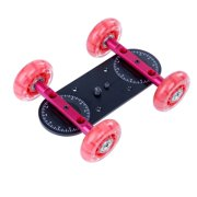 Movo Photo CD100 Professional Cine Skater Table Dolly Video Stabilizer for DSLR Video Cameras - Mini