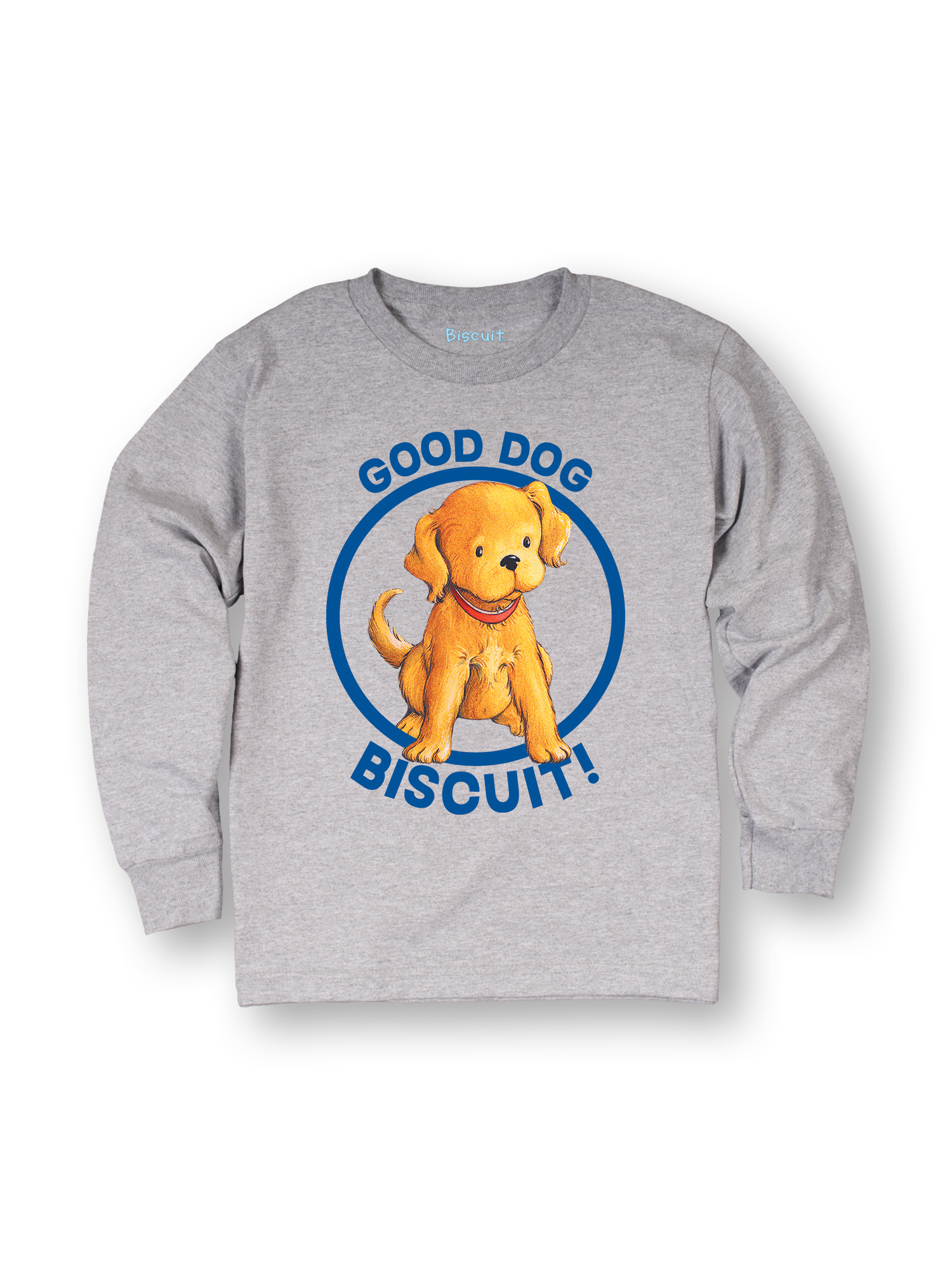 Biscuit Good Dog TODDLER LONG SLEEVE TEE
