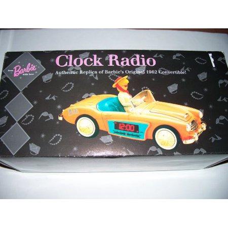 Barbie Clock Radio - 1996 Authentic Replica of Barbie's Original 1962 Convertible Austin Healy (Barbie Radio)