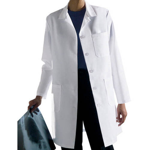 Medline Ladies Classic Staff Length Lab Coat - Walmart.com