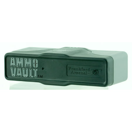 FRANKFORD AMMO VAULT RMD-20 MEDIUM AMMUNITION BOX 20 RDS PLASTIC GRAY/BLK