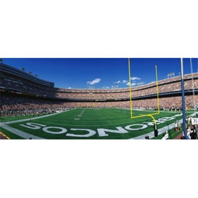 Images panoramiques PPI75582L Mile High Stadium d'affiche par images panoramiques - 36 x 12 - image 1 de 1