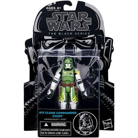 Star Wars The Clone Wars Black Series Commander Doom 3.75