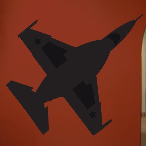 Wallhogs Haynes Silhouette Jet F16 Falcon Viii Cutout Wall Decal Walmart Com Walmart Com