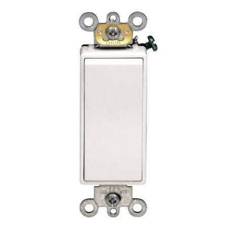 Decora Grounding Switch 3 Way 20 A White Csa Boxed 3 Way Decorative Switch