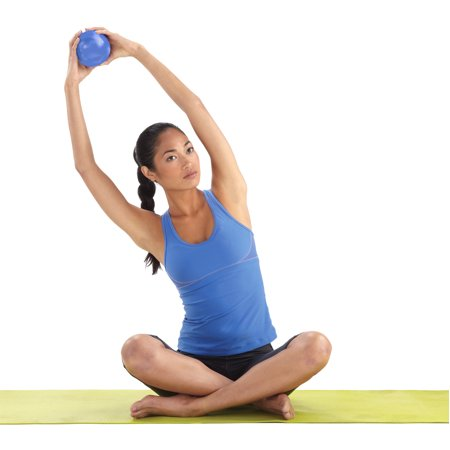 Pure Fitness 2lb Pilates Ball (Blue) ()